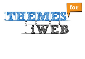 Themes for iWeb