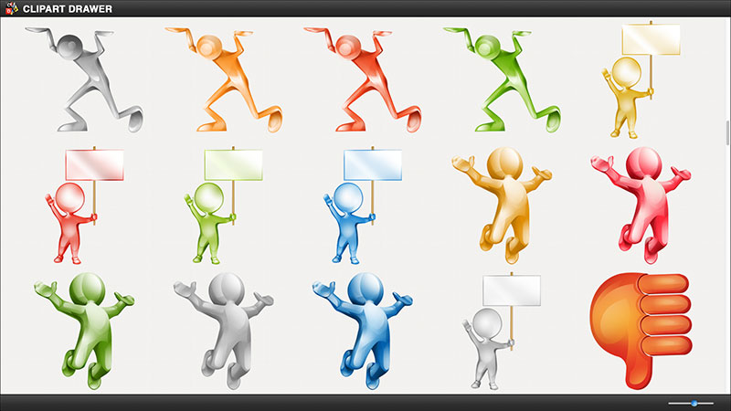 Clipart Drawer for iWork
