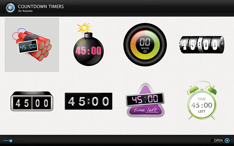 Keynote Presentation Timer